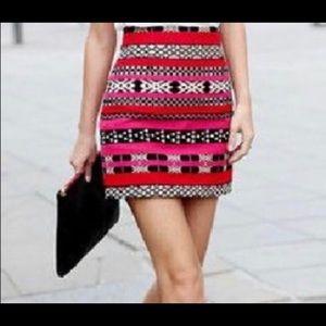 EUC - Zara Pattern Mini Skirt